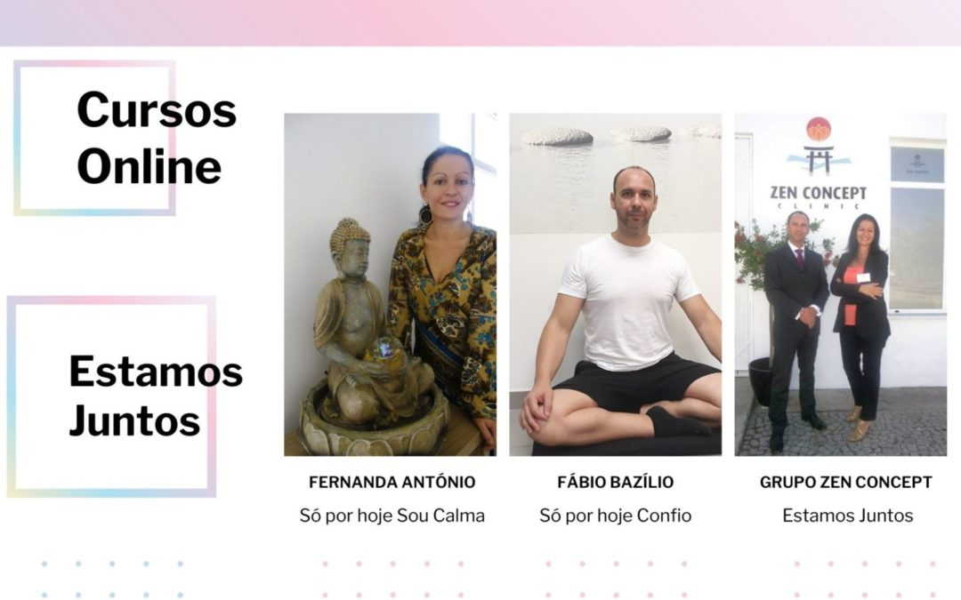 Novos Cursos Online | Estamos juntos