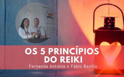 Recitar os 5 princípios do Reiki ao acordar e ao deitar